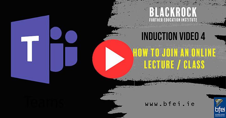 Video Thumbnail - Join an Online Class