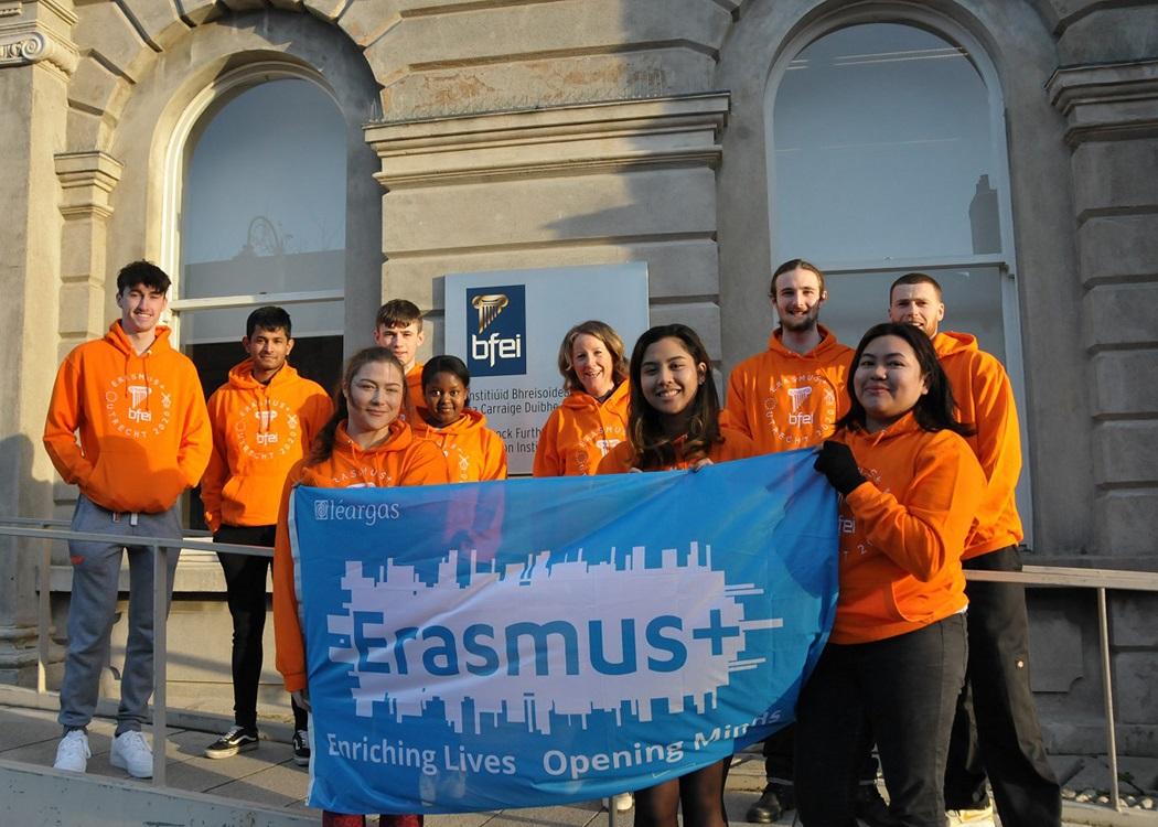 Erasmus+ in Blackrock Further Education Institute