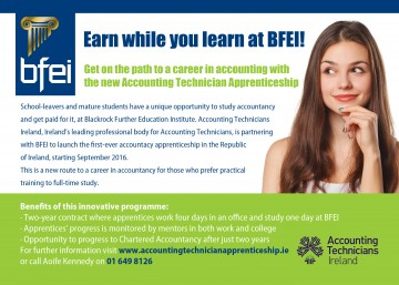 New Accounting Technician Apprenticeship   Information Session