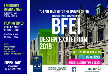 Invitation to End of Year Design Exhibition