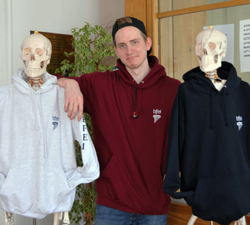 BFEI Hoodies Now Available to Order….....