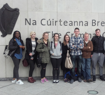 Applied Psychology students visit Criminal Courts of Justice