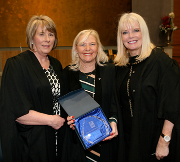Linda Keating Honoured at BFEI Graduation