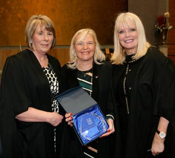 Linda Keating Honoured at BFEI Graduation