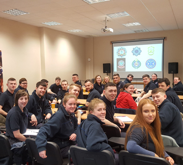 Fire and Ambulance Students Visit The Emergency Services Training Institute