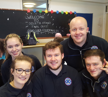 BFEI's Fire and Ambulance students represented the Institute at the inaugural DDLETB Student Quiz..