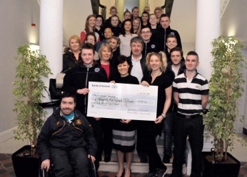 BFEI's Rag Day Raises Over €2,500 for Cancer Charities