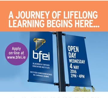Open Day- Wednesday 4 May 2016