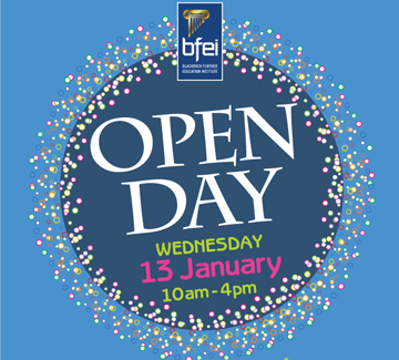 Open Day  at Blackrock Further Education Institute