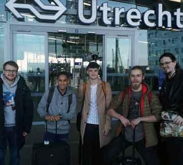 Utrecht in the Netherlands…....... the adventure begins!